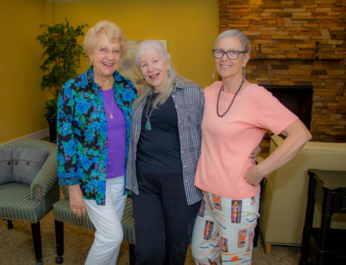 Featured Residents: Nancy, Sandy, and Pat