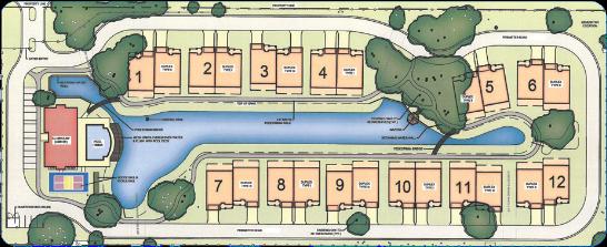 Cottages - Site Map Image