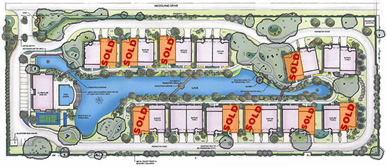 Cottages - Site Map Image